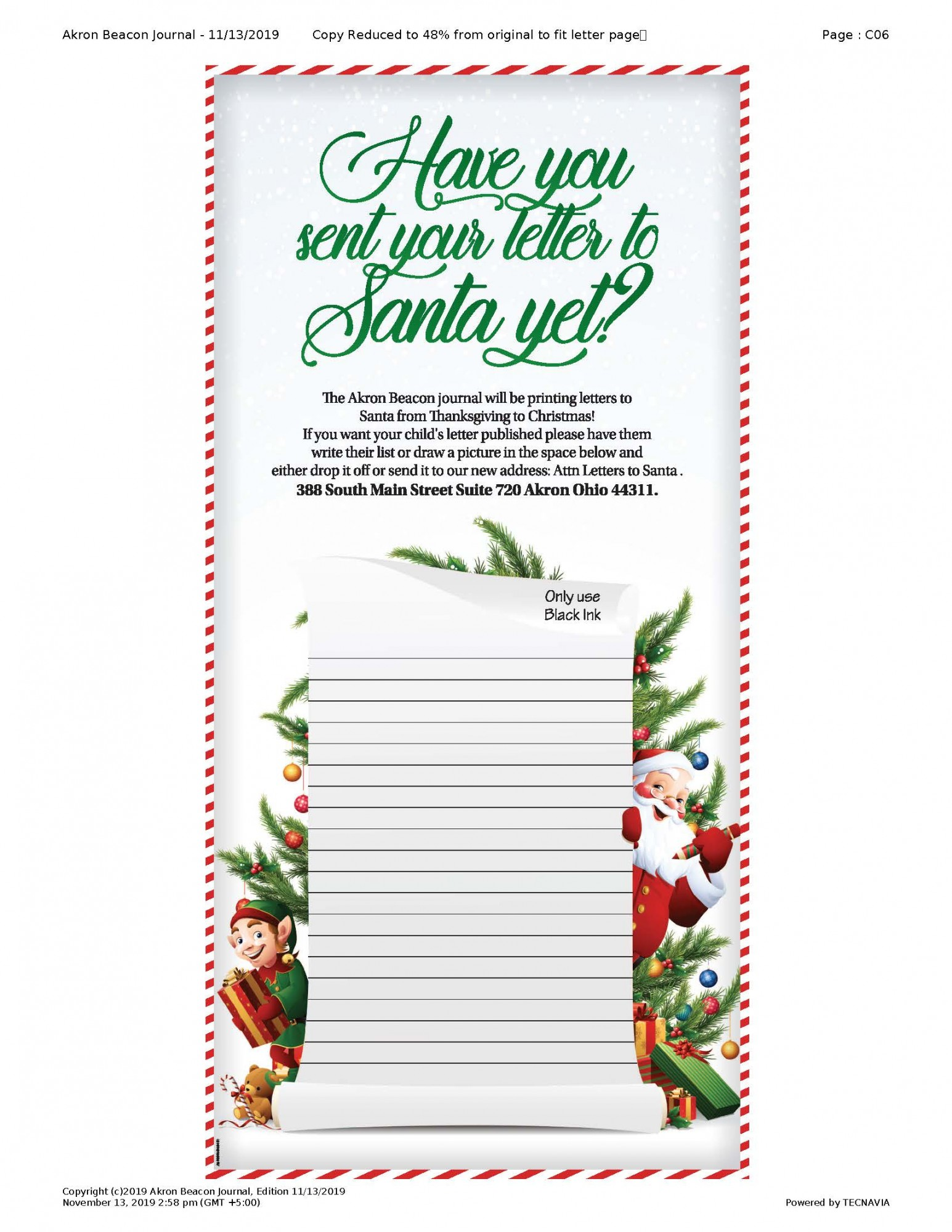 Have you sent your letter to Santa yet?