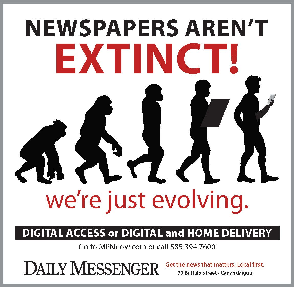 Newspapers Aren't Extinct!