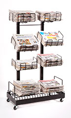 F-24 News Center Rack