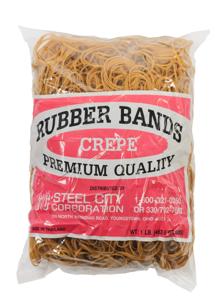 Crepe Rubber Bands