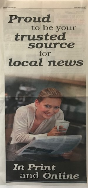 Idea #22 of 50 Days of Ideas! Proud to be your trusted source for local news !
